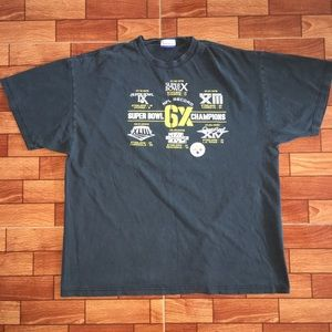 STEELERS WORLD CHAMPIONSHIP SUPERBOWL T SHIRT